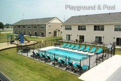 Playground and Pool