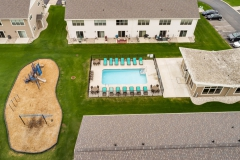 Aerial Shot of Amenities